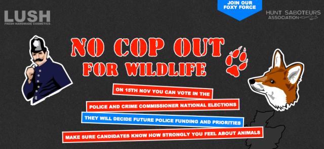 No Cop Out For Wildlife