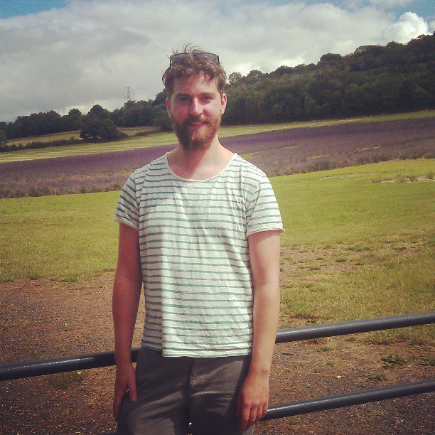 Social Chic, Director, Damien In the Kent countryside